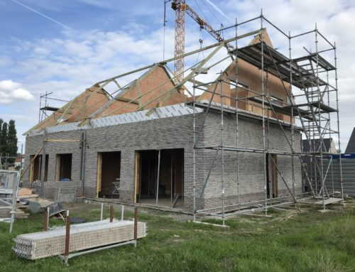 Nieuwbouwwoningen te Diksmuide (Leke)