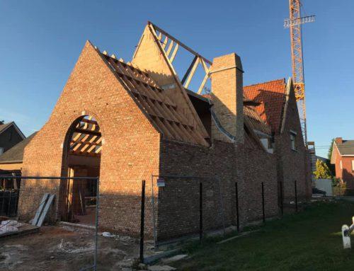 Verbouwing te Wijnendale