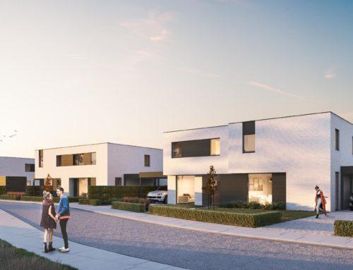 6 Ruime energiezuinige woningen te Eernegem