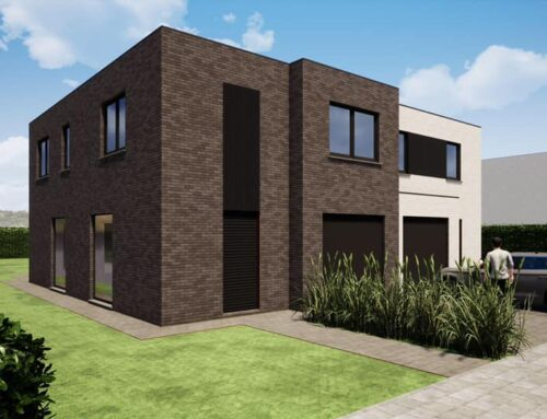 Koppelwoning te Oudenburg (Roksem) – start februari 2021